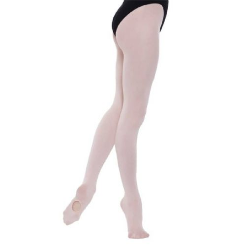 SILKY Ballet Dance Tights Convertible Foot Pink Ladies